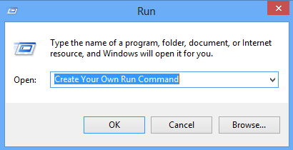 Create Run Commands