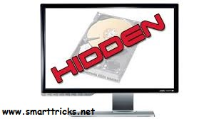 hide drive with cmd