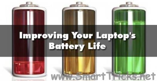increase battery life of your laptop