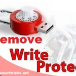 Remove Write protection from pendrive and memory card
