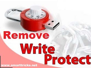 Remove write protection in Pendrive and Memory Card