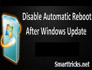 Disable Automatic Restart after Windows Update