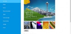 change windows 8 lock screen