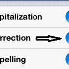 How to Turn off Autocorrection