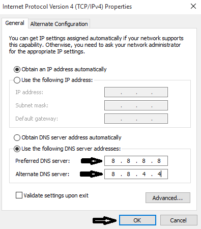 Tweaking DNS Settings