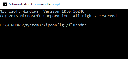 ipconfig flush dns cmd