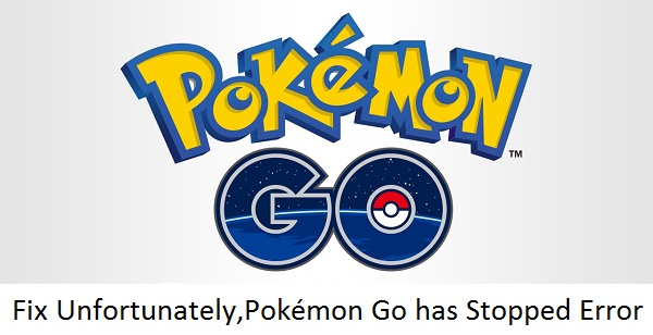 Unfortunately, Pokémon Go has Stopped