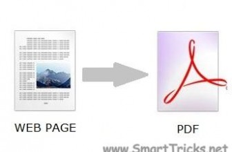 Convert any word document or webpage to pdf