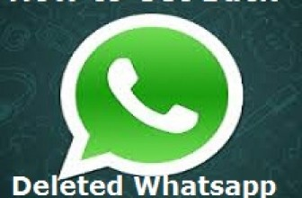 Get back Deleted Whatsapp Messages -How to Guide