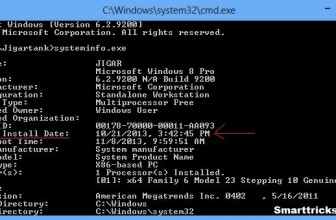 How to Check Original Installation Date of Windows