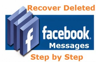 Retrieve Deleted Facebook Messages,Photos and Videos