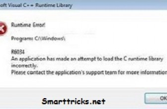 What is Runtime Error r6034 and How to Fix It?