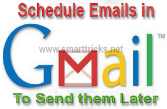 How to Schedule emails to send in future