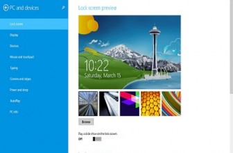Change Windows 8 Lock Screen in 4 simple steps
