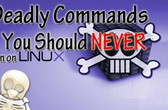 5 Deadly linux commands list