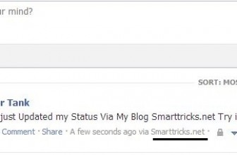 How to Post Custom Via Status on Facebook
